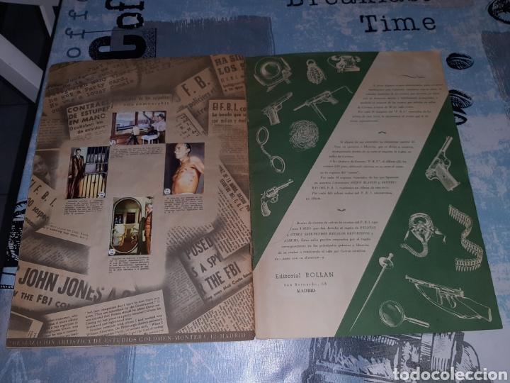 Coleccionismo Álbum: FBI Álbum de cromos completos. Editorial Rollan - Foto 8 - 286354478