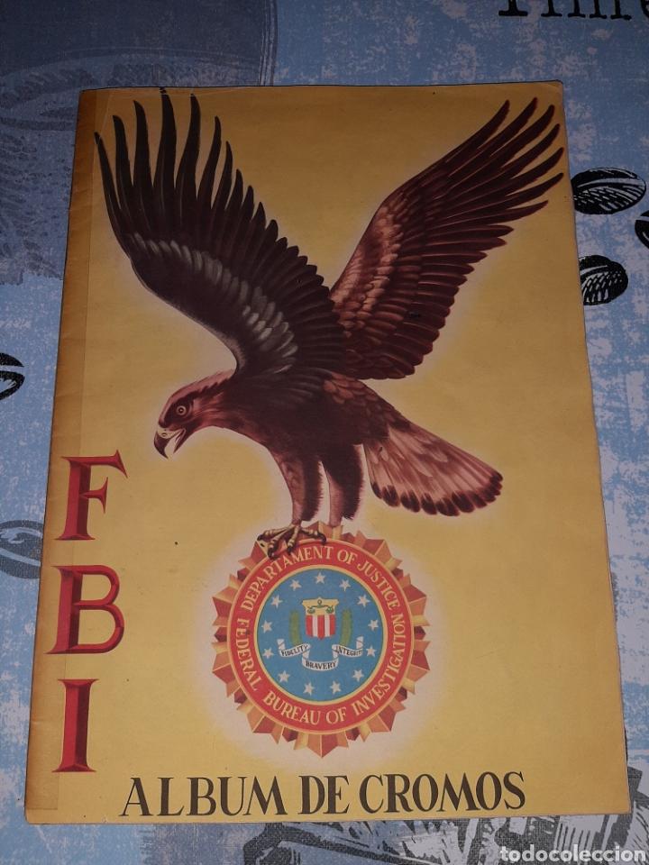 FBI ÁLBUM DE CROMOS COMPLETOS. EDITORIAL ROLLAN (Coleccionismo - Cromos y Álbumes - Álbumes Completos)