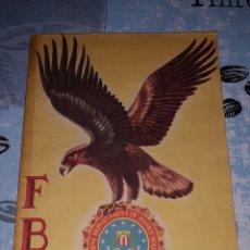 Coleccionismo Álbum: FBI ÁLBUM DE CROMOS COMPLETOS. EDITORIAL ROLLAN. Lote 286354478