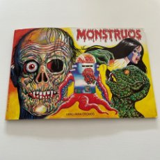 Colecionismo Caderneta: ALBUM MONSTRUOS COMPLETO. Lote 287242438