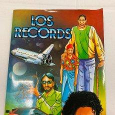 Coleccionismo Álbum: LOS RECORDS, EDIC. MAEVA, ALBUM DE CROMOS COMPLETO, CROMOS CUIDADOSAMENTE PEGADOS. EXCELENTE. Lote 287444153