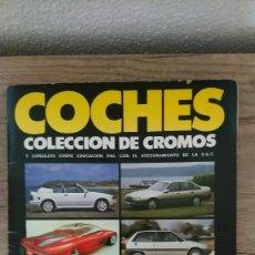 Coleccionismo Álbum: COCHES. Lote 287567208
