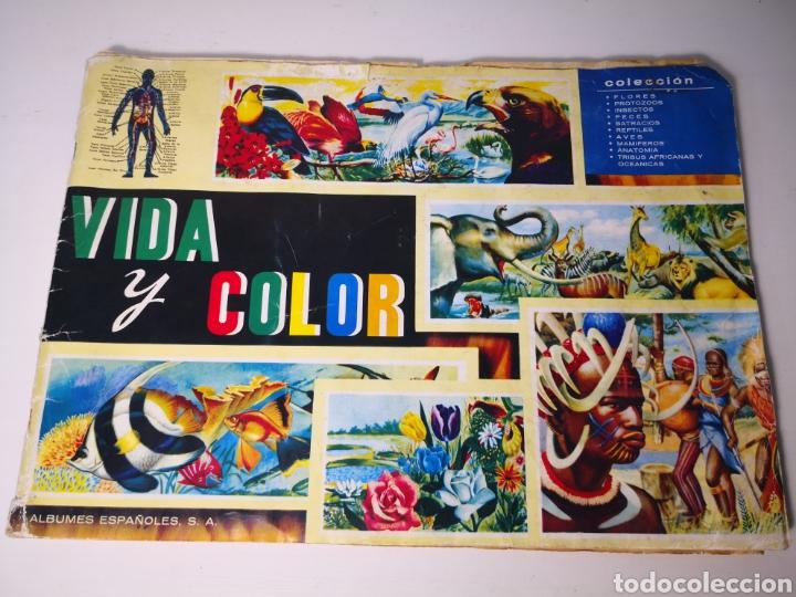 VIDA Y COLOR. ALBUM COMPLETO. FOURNIER 1967 (Coleccionismo - Cromos y Álbumes - Álbumes Completos)
