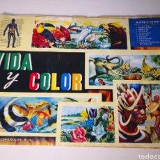 Coleccionismo Álbum: VIDA Y COLOR. ALBUM COMPLETO. FOURNIER 1967. Lote 287738818