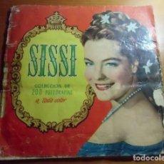 Coleccionismo Álbum: ÁLBUM COMPLETO. AÑOS 50. LOS JÓVENES AÑOS DE UNA REINA. SISSI. EDITORIAL BRUGUERA. Lote 288035133
