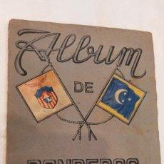Coleccionismo Álbum: ALBUM DE BANDERAS Y ESCUDOS DE TODO EL MUNDO. ED. FHER. COMPLETO. BUEN ESTADO. Lote 288546748