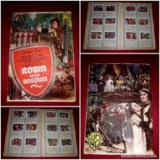 Coleccionismo Álbum: ALBUM ROBIN DE LOS BOSQUES COMPLETO ( ALBUM DE LA PELICULA ) EDICIONES CLIPER. Lote 289498688