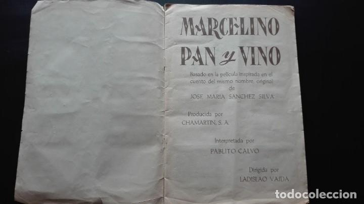 Coleccionismo Álbum: ALBUM CROMOS MARCELINO PAN Y VINO - Foto 2 - 289818383