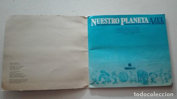 Coleccionismo Álbum: ALBUM CROMOS NUESTRO PLANETA AZUL - Foto 2 - 289820783