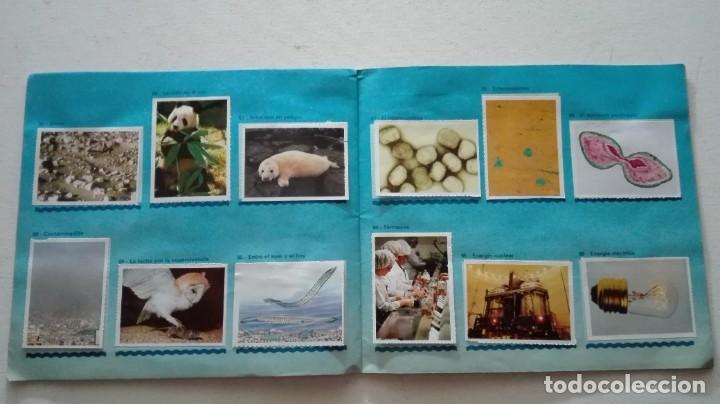 Coleccionismo Álbum: ALBUM CROMOS NUESTRO PLANETA AZUL - Foto 10 - 289820783