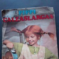Coleccionismo Álbum: ALBUM CROMOS PIPPI CALZASLARGAS. Lote 289821683