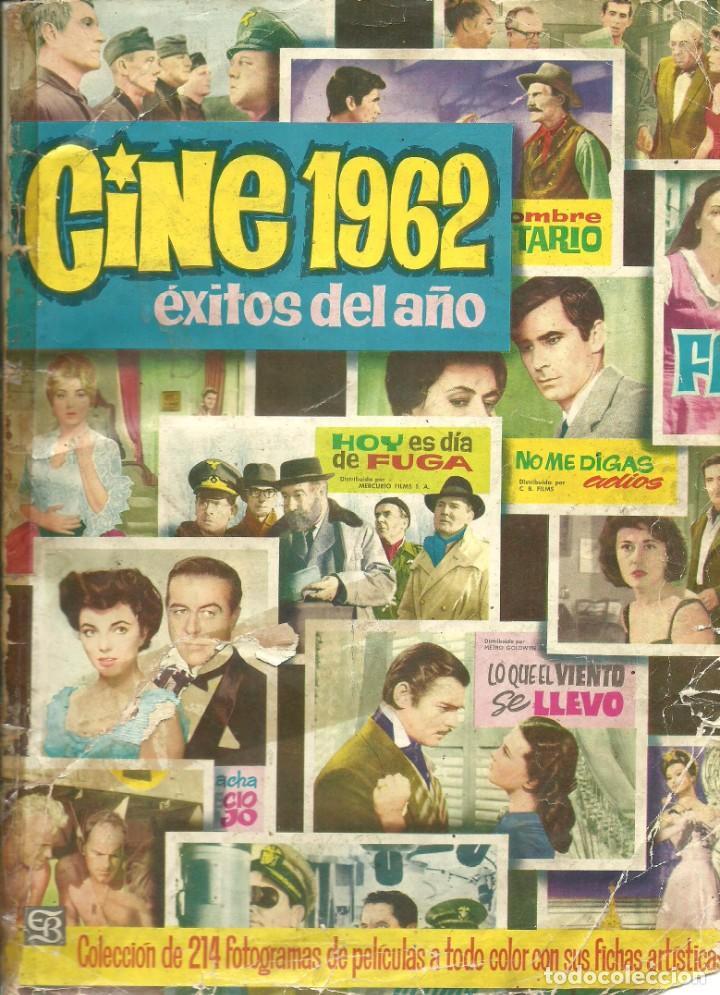 CINE 1962 - BRUGUERA (Coleccionismo - Cromos y Álbumes - Álbumes Completos)