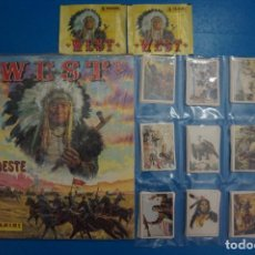 Coleccionismo Álbum: ALBUM COMPLETO DE WEST SIN PEGAR CON 200 CROMOS AÑO 1993 DE PANINI. Lote 289824488