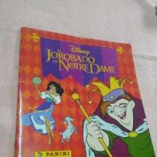 Coleccionismo Álbum: ALBUM CROMOS EL JOROBADO DE NOTRE DAME DE DISNEY (COMPLETO) AÑO 1997. Lote 290051658