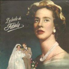 Coleccionismo Álbum: LA BODA DE FABIOLA - COMPLETO. Lote 291305793