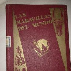 Colecionismo Caderneta: LAS MARAVILLAS DEL MUNDO DE NESTLÉ ÁLBUM COMPLETO DE CROMOS IMPECABLE. Lote 292269528