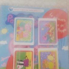 Coleccionismo Álbum: PEPPA PIG. PRIMERA COLECCIÓN, PANINI, CROMOS SIN PEGAR. Lote 293388753