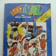 Collezionismo Álbum: ÁLBUM COMPLETO. FESTIVAL DEL DIBUJO ANIMADO. Lote 293763778