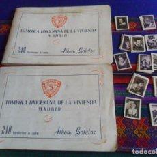 Coleccionismo Álbum: TÓMBOLA DIOCESANA DE LA VIVIENDA MADRID 240 CROMOS REPRODUCIONES DE CUADROS. REGALO OTRO ITEM. RARO. Lote 294371993