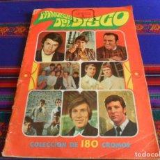 Coleccionismo Álbum: FAMOSOS DEL DISCO COMPLETO 180 CROMOS. ESTE 1968, THE BEATLES, ROLLING STONES, ELVIS PRESLEY. RARO.. Lote 294830843