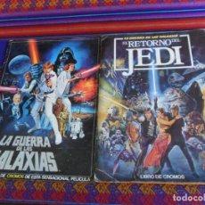 Coleccionismo Álbum: STAR WARS EL RETORNO DEL JEDI COMPLETO PACOSA DOS 1983. REGALO LA GUERRA DE LAS GALAXIAS INCOMPLETO. Lote 295626133