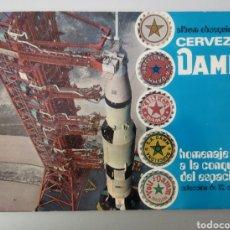 Coleccionismo Álbum: ÁLBUM DE CROMOS COMPLETO.OBSEQUIO DAMM. Lote 296059193
