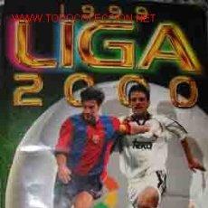 Álbum de fútbol completo: LIGA 1999 / 2000. CAMPEONATO NACIONAL DE LIGA, PRIMERA DIVISION. Lote 19083304