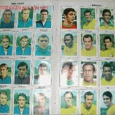 Álbum de fútbol completo: ALBUM DE CROMOS COMPLETO MUNDIAL DE FUTBOL 1970. Lote 26937566