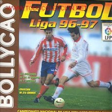 Álbum de fútbol completo: ALBUM DE FUTBOL LIGA 96-97. Lote 25518980