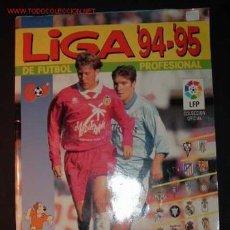 Álbum de fútbol completo: ALBUM DE FUTBOOL-LIGA 94-95 DE PANINI. Lote 1181076