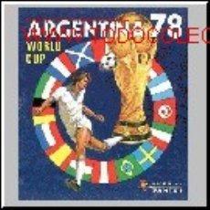 Álbum de fútbol completo: ALBUM MUNCHEN 74 + ARGENTINA 78 CROMOS COMPLETO MUNDIAL DE FUTBOL PANINI. Lote 47312725