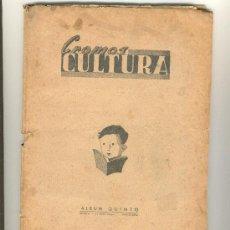 Álbum de fútbol completo: (AL-117) ALBUM FUTBOL CROMOS CULTURA 1ºSERIE QUINTO AÑO 1941. Lote 3194588