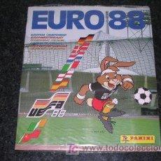 Álbum de fútbol completo: PANINI ALBUM COMPLETO EURO 88 FUTBOL, FANTASTICO EUROCOPA 1988 CROMOS. Lote 53222099
