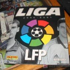 Álbum de fútbol completo: LIGA 2000-2001 LFP,MUY NUEVO,FALTAN UNOS 77 DE 420 CROMOS. Lote 12817485