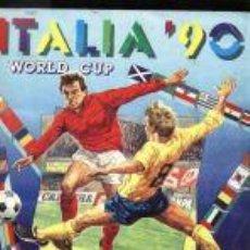 Álbum de fútbol completo: PANINI ITALIA 90, COMPLETO ALBUM DE CROMOS, COMPLETO 1990, FUTBOL, MATERIAL DE PRIMERA.. Lote 4102326