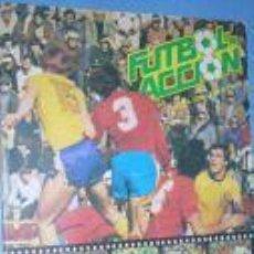 Álbum de fútbol completo: FUTBOL EN ACCION. ALBUM COMPLETO. DANONE 82.. Lote 3587529