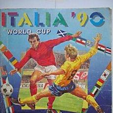 Álbum de fútbol completo: ALBUM DE CROMOS, ITALIA 90, USA94, PANINI COMPLETOS, MATERIAL DE PRIMERA. Lote 5499515