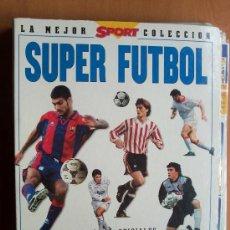Álbum de fútbol completo: ALBUM CON FICHAS SUPER FUTBOL LIGA 96 - CON 283 CROMOS . Lote 25951231
