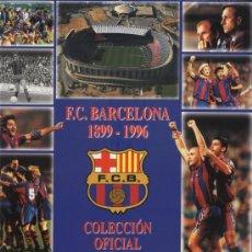 Album de football complet: COLECCION EN CROMOS FOTOS DE LA HISTORIA DEL FUTBOL CLUB BARCELONA. Lote 20697783