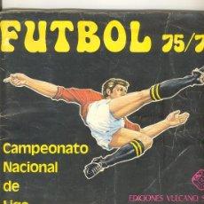 Álbum de fútbol completo: (AL-384)ALBUM CROMOS FUTBOL CAMPEONATO NACIONAL DE LIGA 75-76(COMPLETO). Lote 4921842