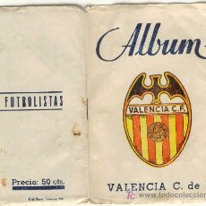 Álbum de fútbol completo: (3269-F)ALBUM CROMOS FUTBOL VALENCIA C.F.TEMPORADA 1946-47. Lote 5240470