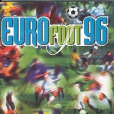Álbum de fútbol completo: ALBUM DE CROMOS DE FUTBOL TOTALMENTE COMPLETO EURO 96 EUROCOPA EUROFOOT EURO FOOT. Lote 22879240
