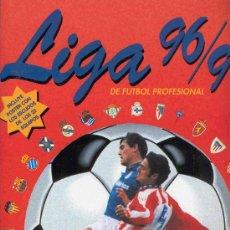 Álbum de fútbol completo: ALBUM DE CROMOS DE FUTBOL COMPLETO LIGA 96 - 97 1996 - 1997. Lote 23631698