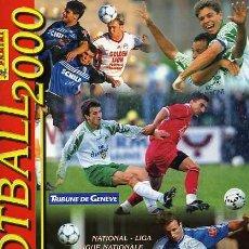 Álbum de fútbol completo: FOOTBALL 2000 ALBUM DE CROMOS COMPLETO LIGA SUIZA TEMPORADA 1999-2000. Lote 5572684