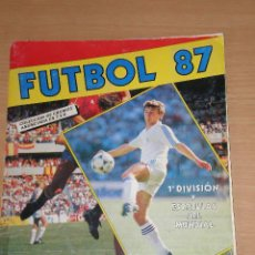 Álbum de fútbol completo: FUTBOL 87 PANINI - COMPLETO. Lote 126554734