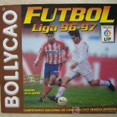 Álbum de fútbol completo: ALBUM DE CROMOS VACIO - FUTBOL LIGA 96-97 DE BOLLYCAO. Lote 12327327