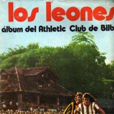 Álbum de fútbol completo: ALBUM COMPLETO DE FUTBOL LOS LEONES DEL ATHELTIC CLUB DE BILBAO CHOCOLATES SUCHARD. Lote 5821853