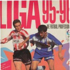 Álbum de fútbol completo: (AL-464)ALBUM CROMOS DE FUTBOL LIGA 95-96. Lote 5861827