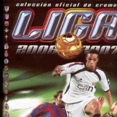 Álbum de fútbol completo: ALBUM DE CROMOS DE FUTBOL COMPLETO LIGA 06 - 07 2006 - 2007 EXTRAORDINARIO. Lote 23688977