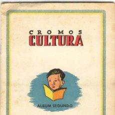 Album de football complet: (AL-543)ALBUM CROMOS MIXTO FUTBOL CULTURA SEGUNDO AÑO 1942. Lote 6420404